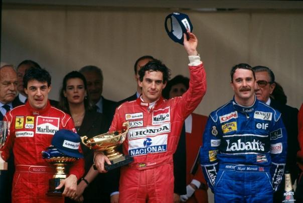 Image result for 1991 monaco podium
